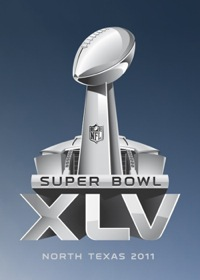 super bowl superbowl logo 2011 xlv texas