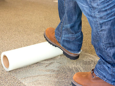 Carpet Protection Construction
