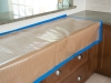 Protect Countertops with Reinforced Kraft Paper