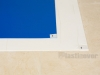Blue and White Sticky Floor Protection Mats