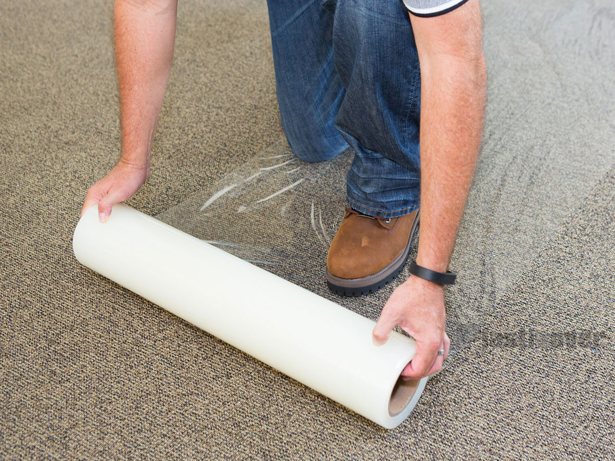 Plastic roll carpet protector carpet nrtradiant - Decorating carpet protector ...